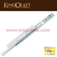 45x34mm, Light Duty Slide -For Wire Basket with silent soft-closing