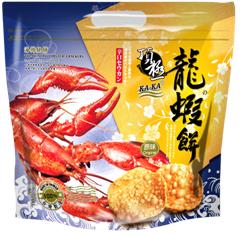 龙,虾饼 130g 原味