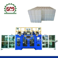 Fully Automatic 10L(2+2) Three-Layer Blow Molding Machine