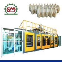 Cens.com Fully Automatic 4L(4+4) Three-Layer Blow Molding Machine SHENG MEI PLASTIC MACHINERY CO., LTD.