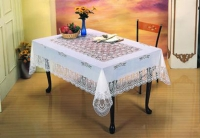 Cens.com Vinyl Crochet Lace Table Cloth COME BEST INDUSTRIAL CO., LTD.