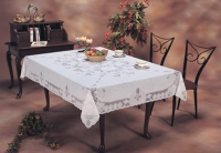Vinyl Lace Table Cloth