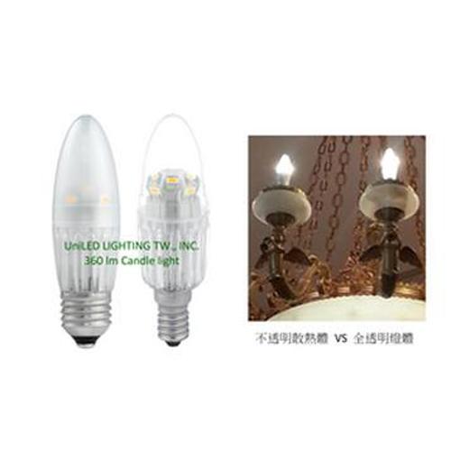 LED蠟燭燈 (360 lm/4W/2700K)