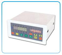 Dual-display load measuring controller