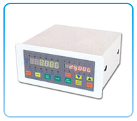 Dual-display load measuring controller