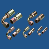 PF/BSP (female/male) high-pressure hose fittings