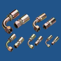 NJ-UNF (JIC) high-pressure hose fittings
