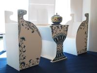 青花桌椅组