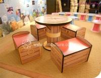 兒童寶藏桌椅組