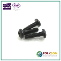 Machine bolt - black zinc