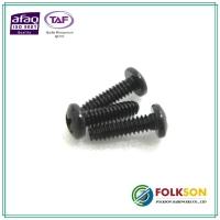 Machine bolt - black zinc