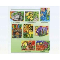 Cens.com Mosaic  sticker GRAND COLOR PRINTING ENT. CO., LTD.