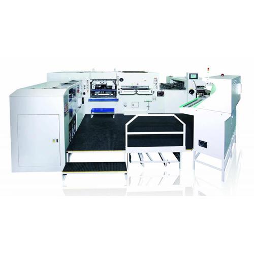 高性能自动平盘烫金轧盒机