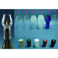 Wine Candle Chimney Set