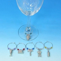 Cens.com 6 PCS Wine Charm KAI WAY ENTERPRISE CO., LTD.