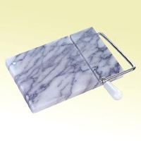 White Marble Cheese Slicer