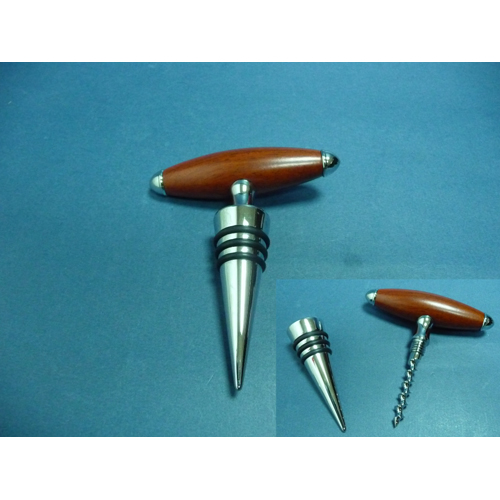 2-In-1 Corkscrew and Stopper