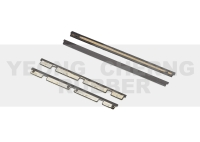 Scrapers for linear motion