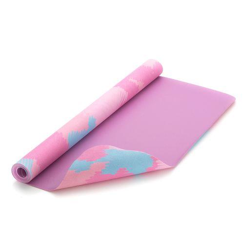 Portable Travel Yoga Mat/Towel (Macaron pattern)