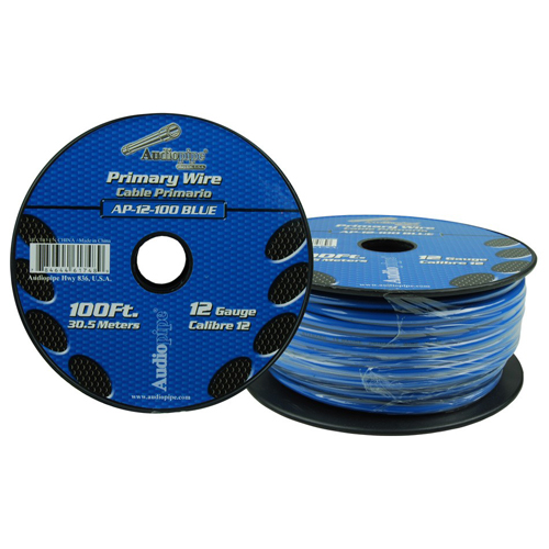 12 Gauge 100ft/500ft Primary Wire