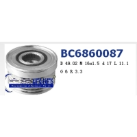 Cens.com Overrunning Alternator Pulley TAIZHOU PROCH AUTO-PARTS CO., LTD.
