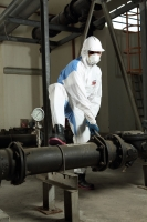 ULTITEC 2000B coverall/ Microporous SMS vented Type 5/6 Coverall
