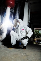 ULTITEC 1000FR coverall/ SMS Type 5, 6 Flame Retardant Coverall