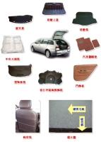 汽車置物板毯