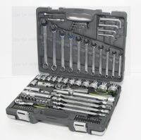 76pc 1/2Dr&1/4Dr Socket Set