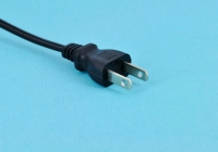 Japanese-spec two-pin power cord