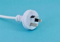 Australian-spec SAA three-pin power cord