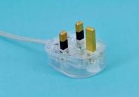 British-spec BS power cord