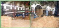 CYLINDRICAL ROTARY DRYING M/C