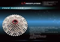 Big-range 10-speed cassette  FREE RANGER