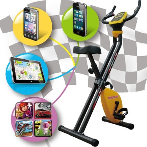 藍牙版互動式遊戲健身車