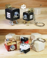 Camera keychain and necklace
