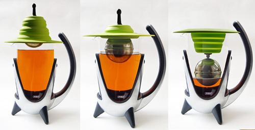 彈力杯蓋濾茶球組
