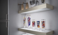 Cabinet Light- Glass Shelf Light with Motion Switch