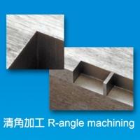 R-angle machining