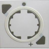 UV LED 陶瓷支架 - CLUV1515 - 高反射 - 3D 玻璃环绕壁