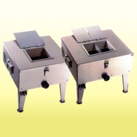 Single/dual-tank floor-standing boneless-meat cutter
