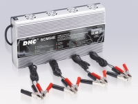 4 Stations, 5Amp / 12V Switching Power Battery Charger / Maintainer