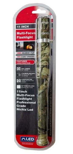 11 in. Multi-Focus Flashlight