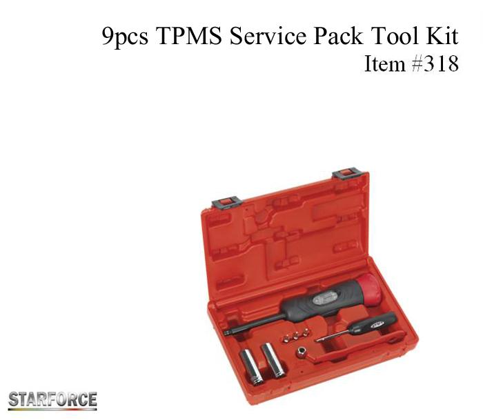 9pcs TPMS Service Pack Tool Kit