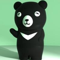 台灣黑熊造型隨身碟