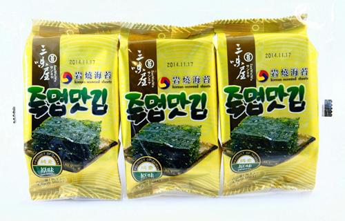 韓式三入岩燒海苔