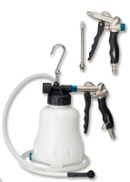 Grip Type Basic Brake Oil Extractor / 2Way Air Duster