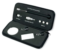 Quick release auto inspection tool set