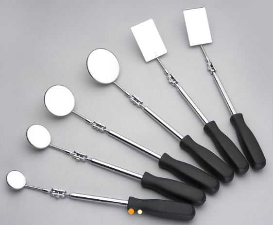 Professional telescoping inspection mirror