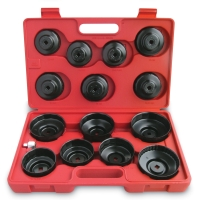 15 PC CUP TYPE OIL FILTER WRENCH